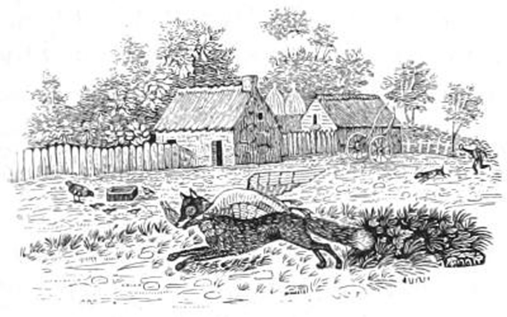 The Fox is a major character in Aesop's Fables