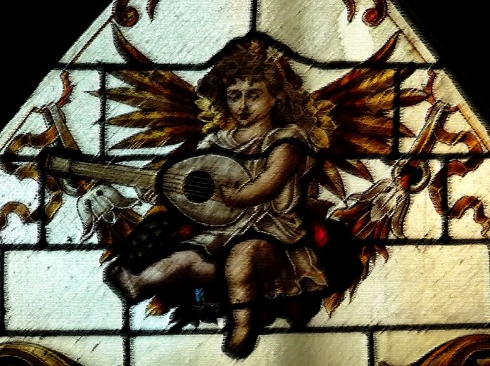 Orpheus and his lute