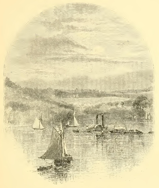 Ships upon the Hudson River